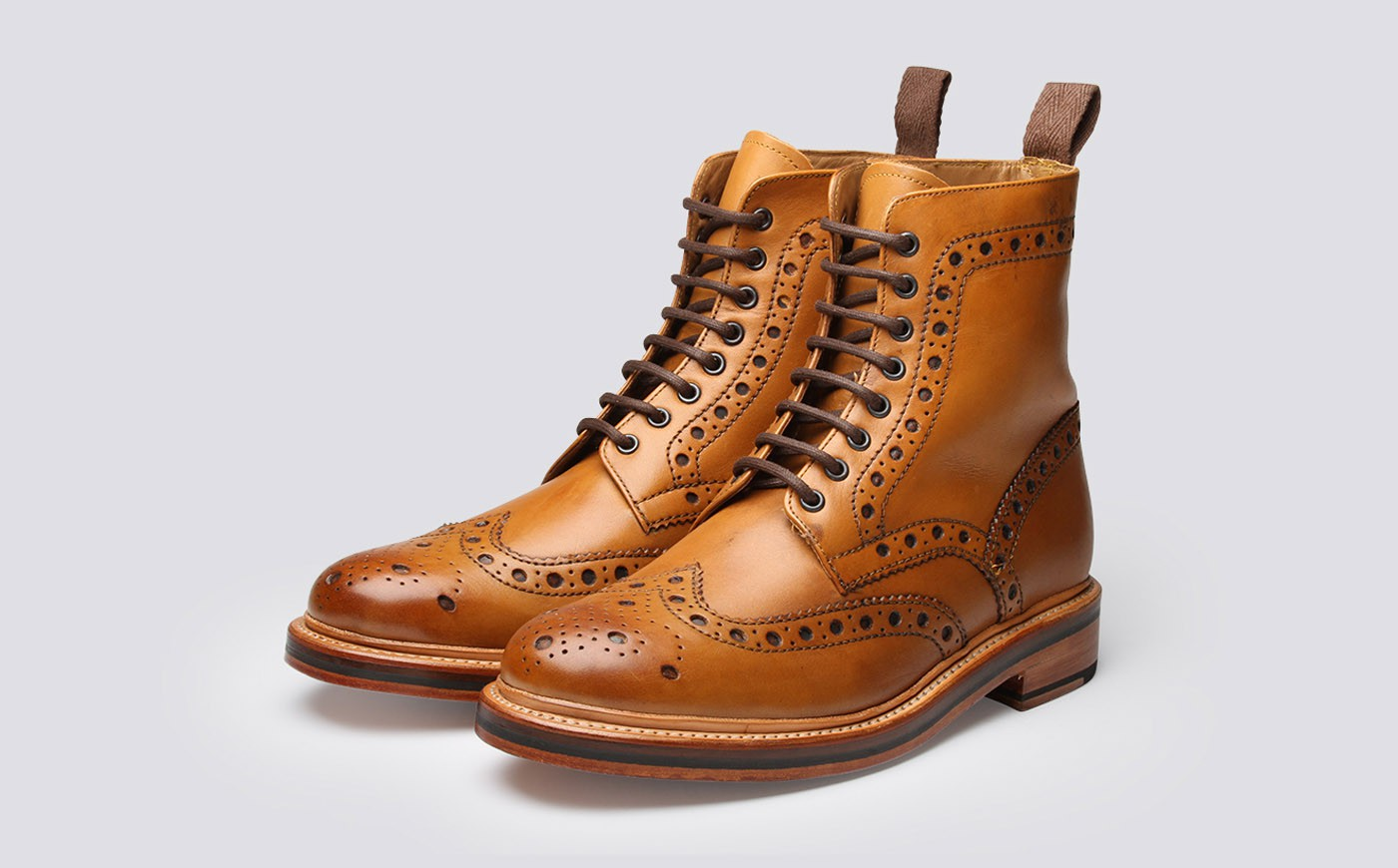 Bốt nam Brogue
