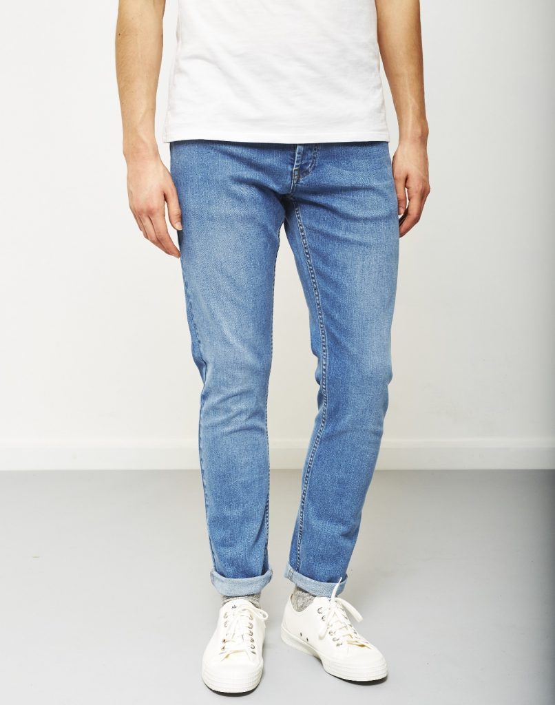 chọn quần jean nam cho người gầy
