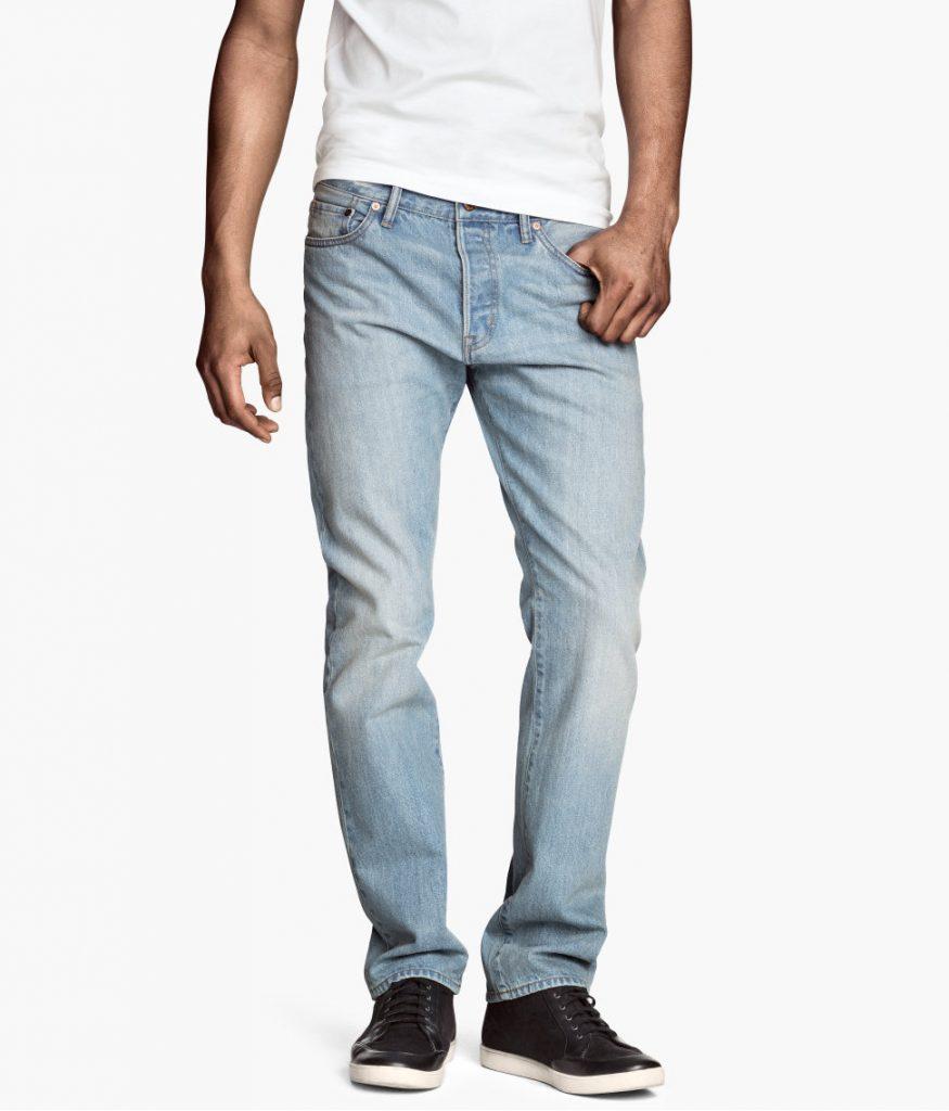 chọn quần jean nam cho người cao