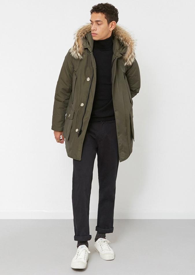 áo khoác parka phong cách bắc cực