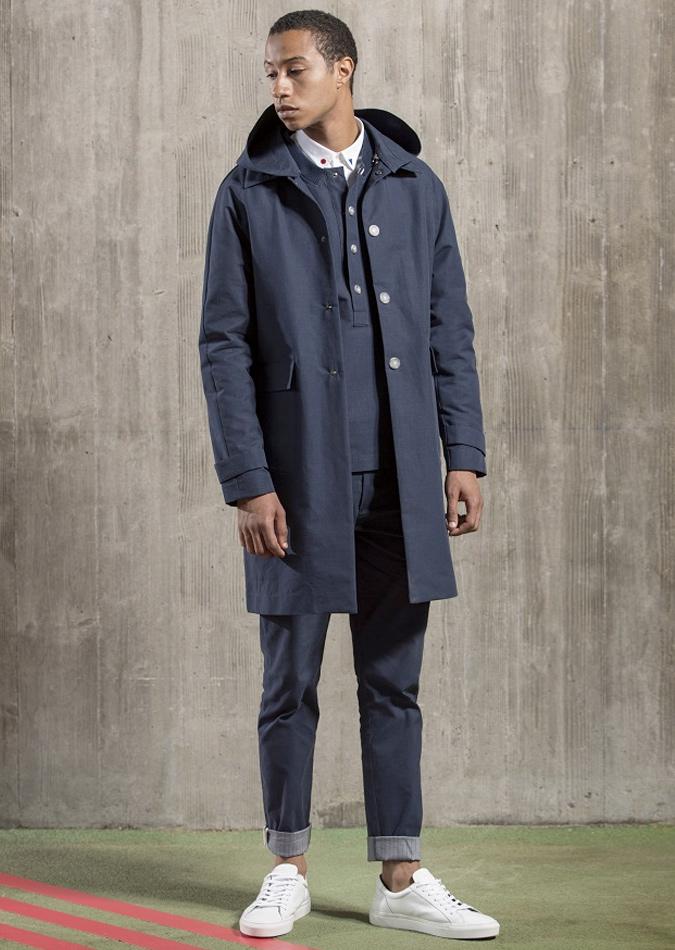 áo khoác tailored parka